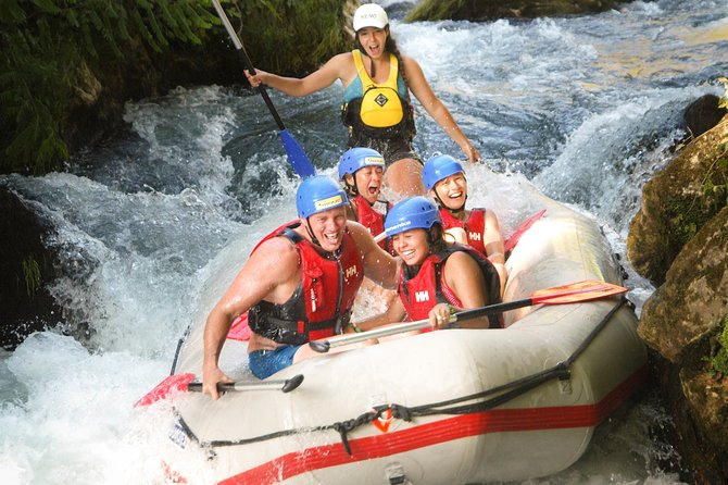 Half-Day Rafting Experience on Cetina River with Cliff Jumping