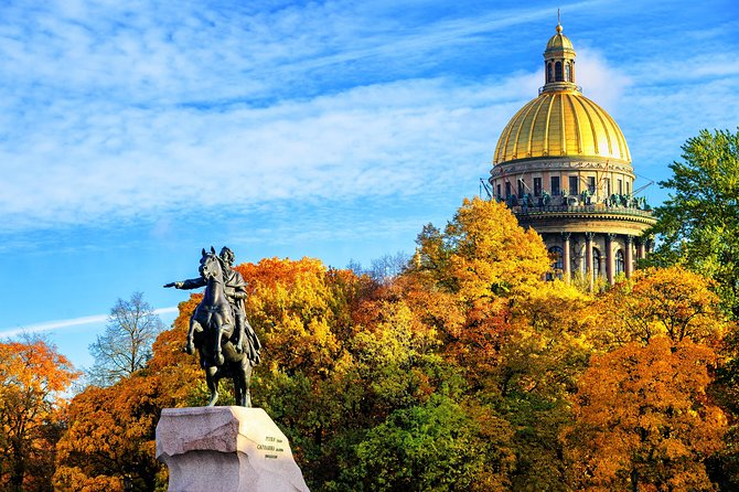 ALL INCLUSIVE: St Petersburg Full Day Visa-Free Shore Excursion