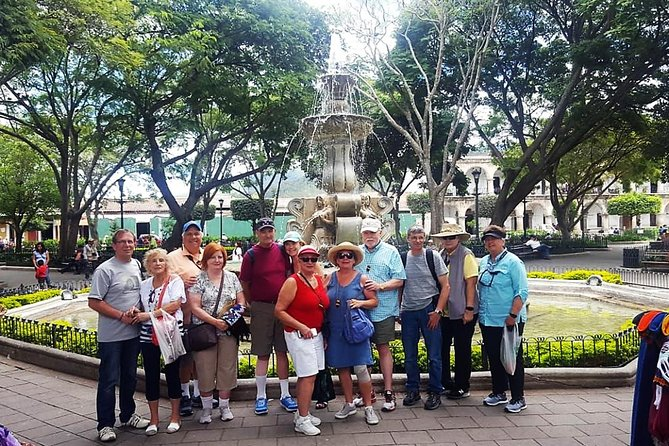 Full-Day Tour: Colonial Antigua, Jade Factory and Textile Experience