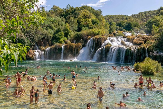 Krka Waterfalls and Visit to Sibenik Day Trip from Zadar