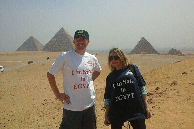 A private Day Tour of Giza Pyramids, Memphis & Saqqara ( All Inclusive )