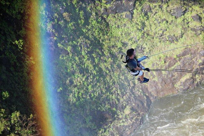 Bungee Jump, Bridge Swing or Zipline from the Victoria Falls Bridge