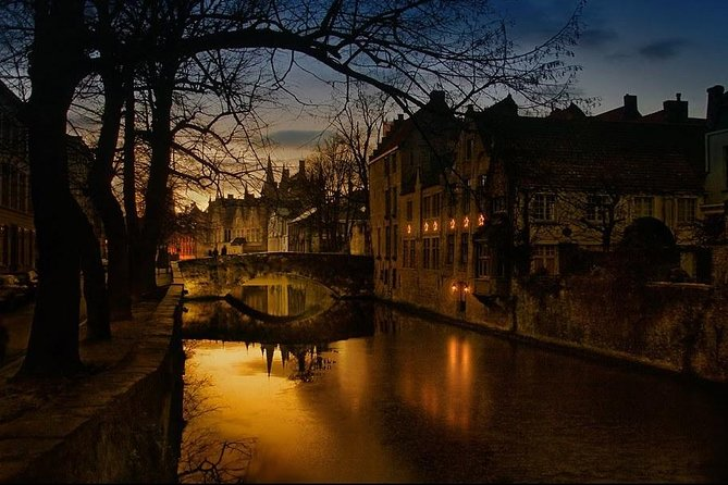 Private Evening Tour: The Dark Side of Bruges