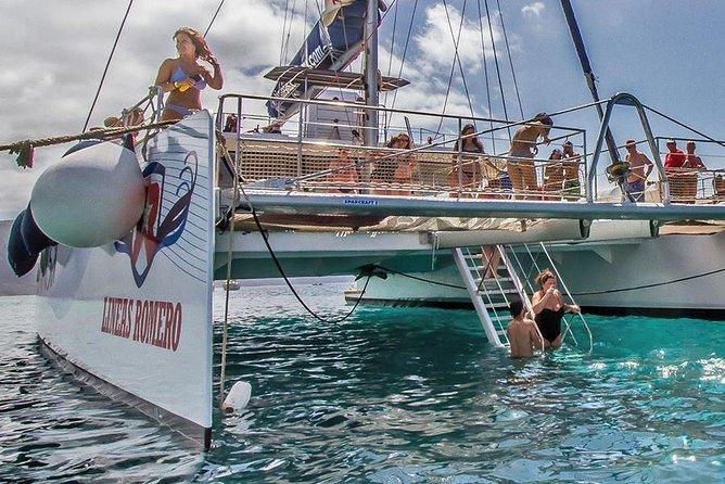 Catamarancruise naar Papagayo-stranden met lunch en vervoer van en naar uw hotel