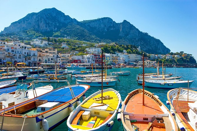 Private Transfer: Naples to Capri by Speedboat