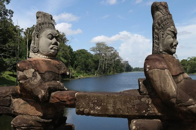 Angkor Wat One Day Tour, Lunch, and Sunset, With Tuk Tuk