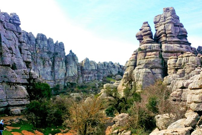 El Torcal private trip from Marbella or Malaga
