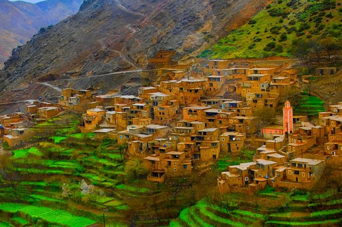 Day trip to atlas Mountains And 3 Valley & Berber Villages with Camel Rid photo 3