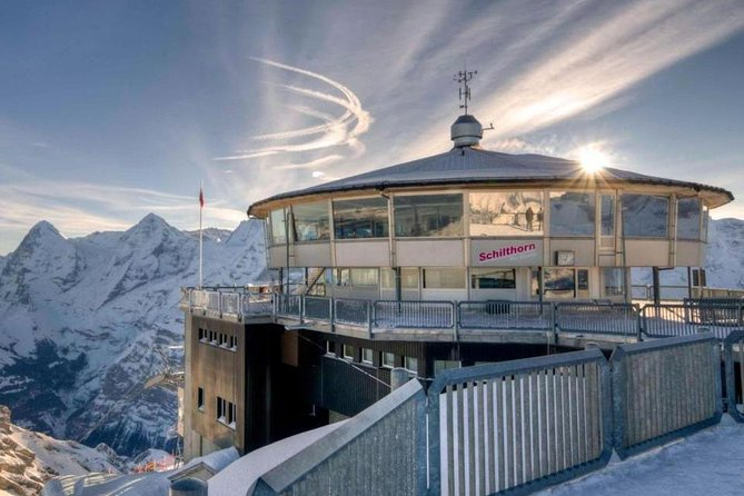 Schilthorn Piz Gloria (James Bond Location) Private Tour from Interlaken