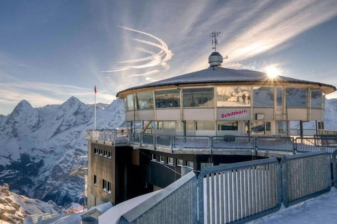 Schilthorn Piz Gloria (James Bond Location) Private Tour from Luzern