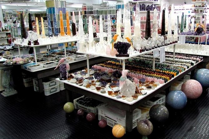 Semiprecious Gemstones Shopping Tour with Hotel pickup and drop-off