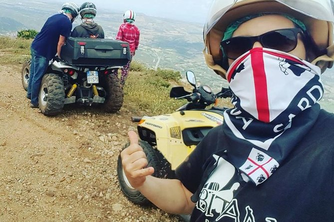 Cagliari: Quad Adventure Full day Tour Experience from Chia photo 3