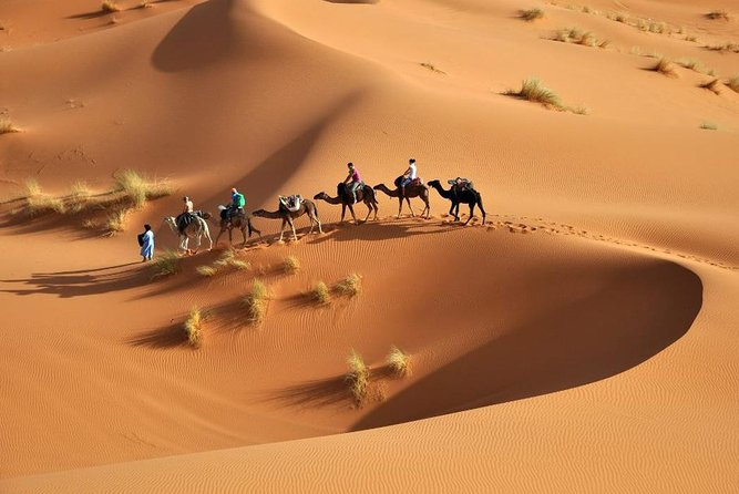 3-Day tour from Marrakech to Merzouga including Camel Trek and Desert Camp