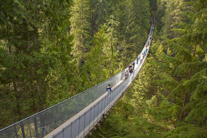 Vancouver Highlights and Capilano Suspension Park Tour - Private Charter (7 hrs) photo 1