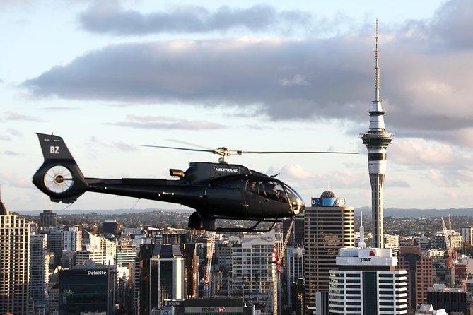 Passeios de helicóptero Auckland e Waiheke