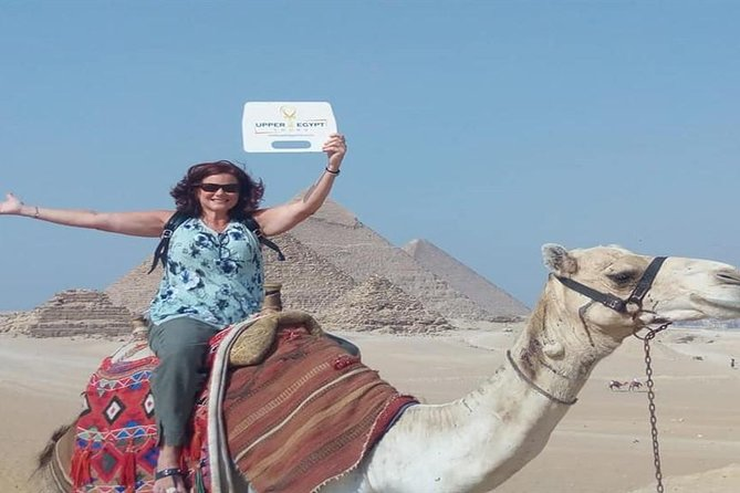 Day Tour: Giza Pyramids, Old Cairo, and El Mokattam Mountain Cave Church