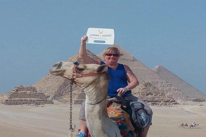 Explore Giza Pyramids and camel ride