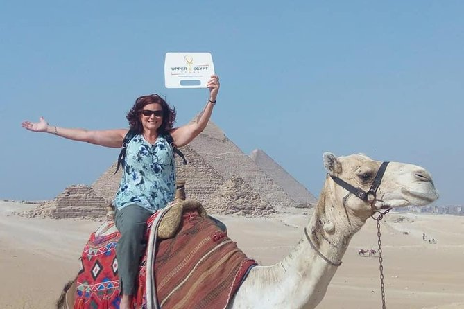 Half Day Tour to Giza Pyramids with Camel-Riding