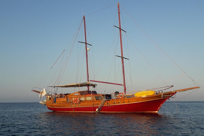 Private sailing yacht cruise for max 40 Quests from AYIA NAPA OR PROTARAS