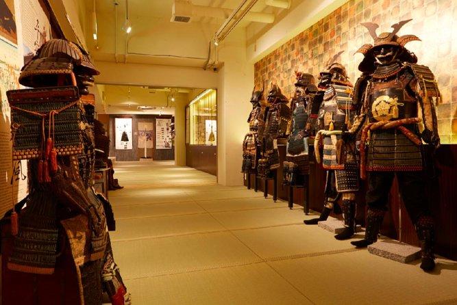 Guided Tour + Samurai & Ninja Experience