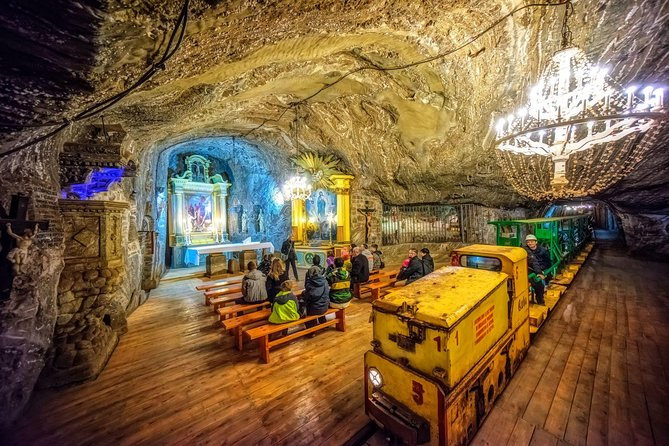 The Bochnia Salt Mine Tour from Krakow with private transfer
