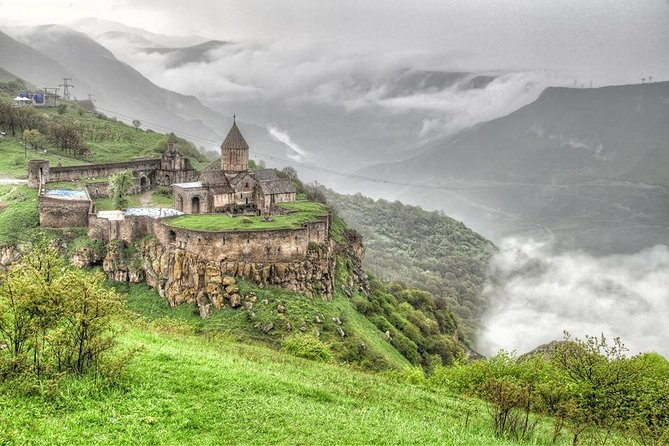 Tatev Monastery-Khndzoresk (Cave town)