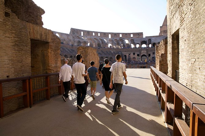 Exclusive | Colosseum Gladiators Arena Guided Tour | Super VIP Entry