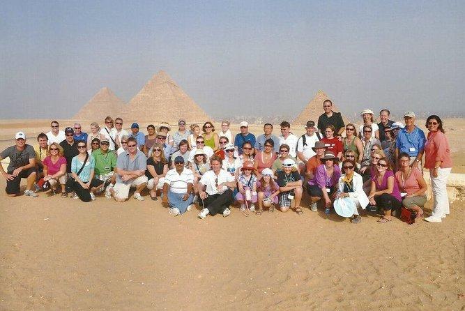 Full day tour at the Great Pyramids of Giza & Saqqara Pyramids