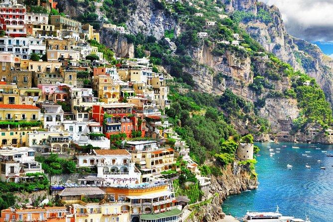 Expérience en bateau Positano et Amalfi à partir de Rome