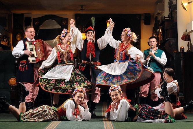 Polish Folk Show with 3 course dinner in Krakow legendary restaurant