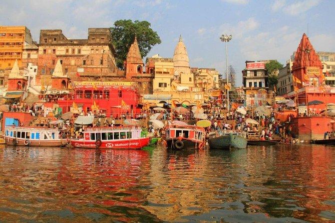 Varanasi and Taj Mahal Tour with Ganges Boat Ride