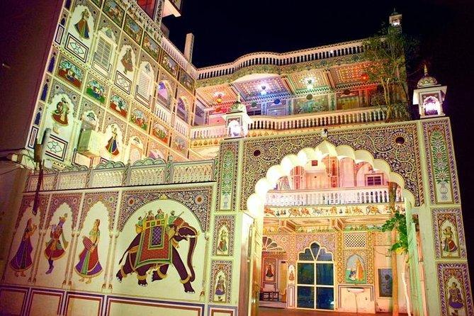Tour privado de 2 días a Mandawa con Shekhawati Havelis desde Jaipur