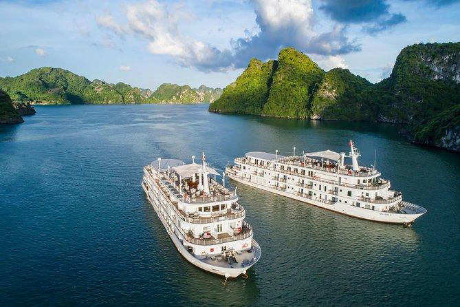 Overnight Halong Bay with Paradise Elegance Cruise