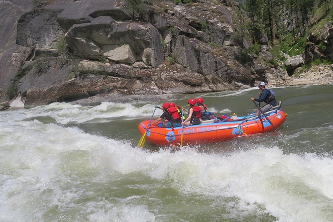 Great whitewater of the Main Salmon