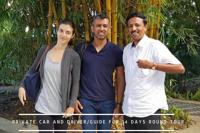 Private Car Hire with Driver-Guide for 14 Days Round Tour