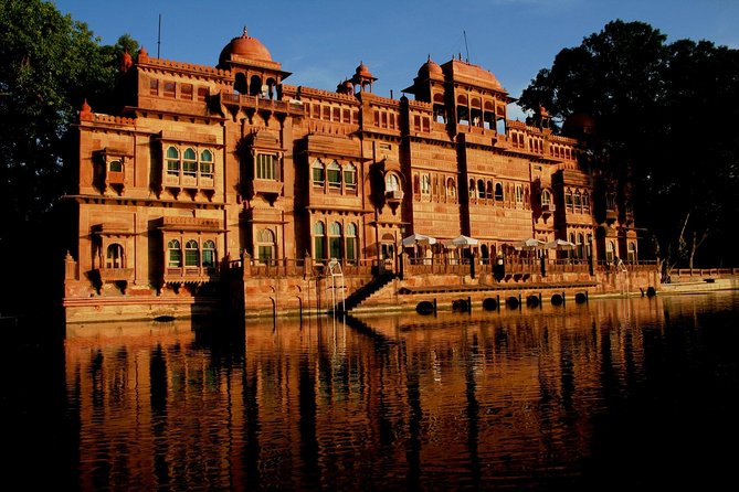 Gajner Palace Lake Side Stay with village experience
