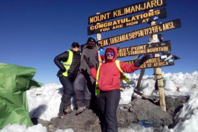 Kilimanjaro Machame Route, Via Barafu Camp 7 Days 6 Nights On The Mountain