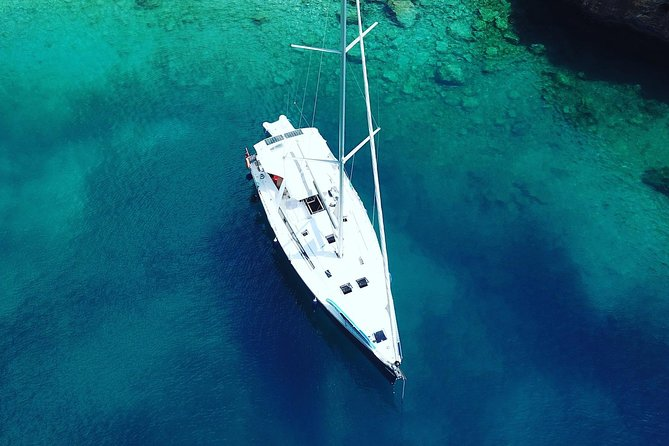 sailing yacht tundra from sky