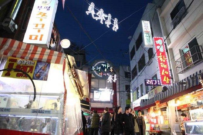 Busan Night food tour - Bupyeong Kkangtong market