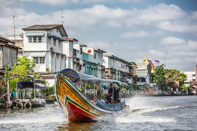 Private Tour: Half-day Grand Palace and Wat Arun by Boat