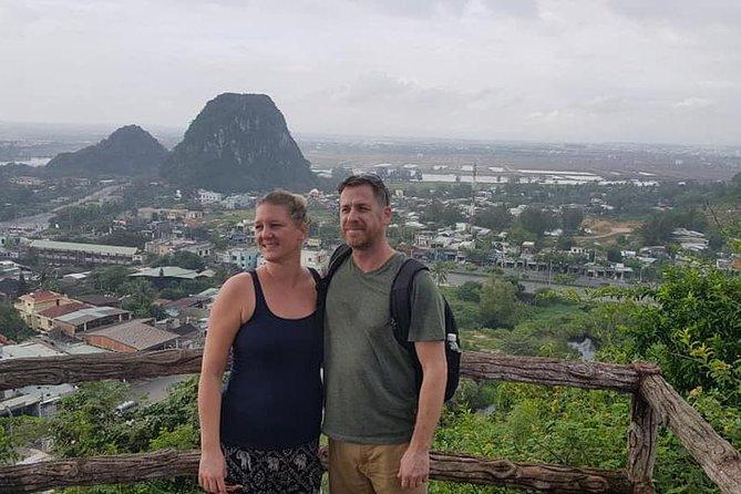 Da Nang city Tour with Marble Mountain, Dragon Bridge, Lady Buddha Statue