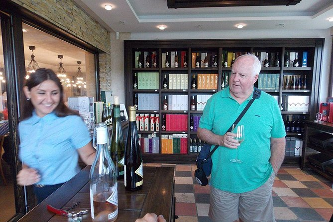 Wine shop in Aleksandrovic winery
