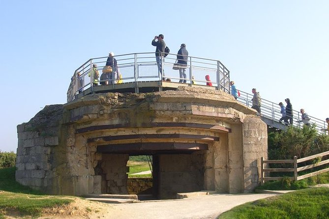 D-Day Omaha Beach Area Morning or Afternoon Group Tour from Bayeux