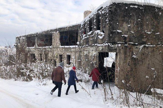 Sarajevo assiégée pendant 1425jours : excursion période de guerre