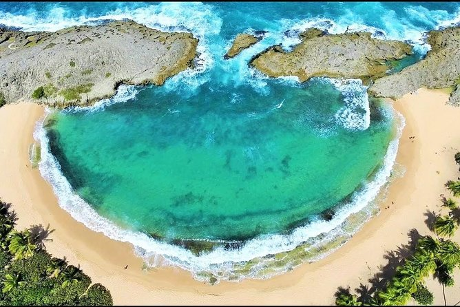 Private Mar Chiquita Beach and Birth of a New World Monument from San Juan