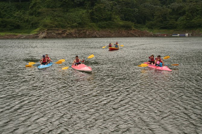 Kayaking on the Arenal Lake From Arenal
