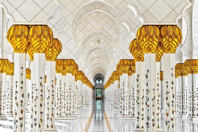 Abu Dhabi City Tour Full Day - Louver Museum & Grand Mosque & Heritage Village photo 11