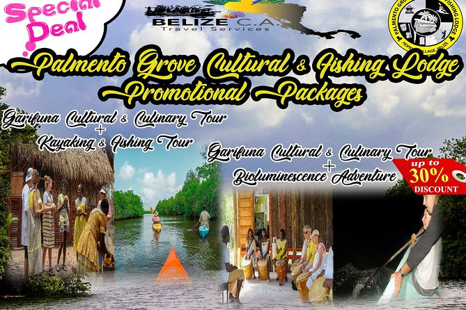 Garifuna Cultural Culinary Adventure & Bio luminescent Tour Combo