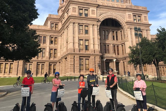 Capital of Texas Segway Tour