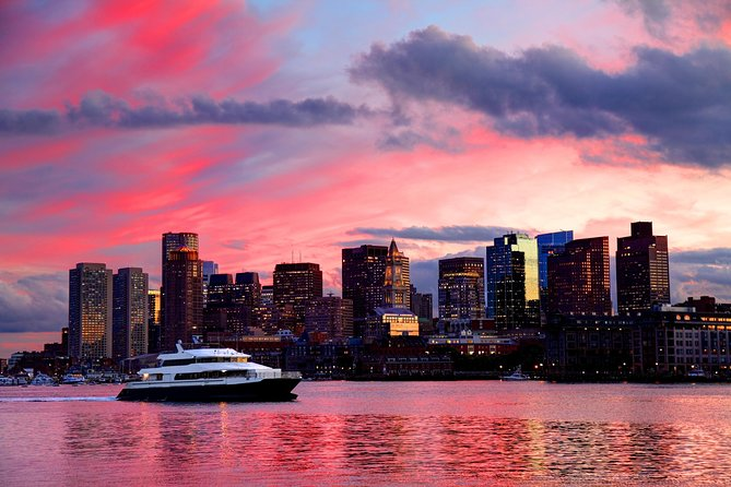 Boston Harbor Sunset Sightseeing Cruise